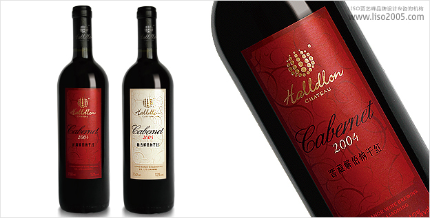 山西葡萄酒庄园 葡萄酒包装设计 品牌设计
